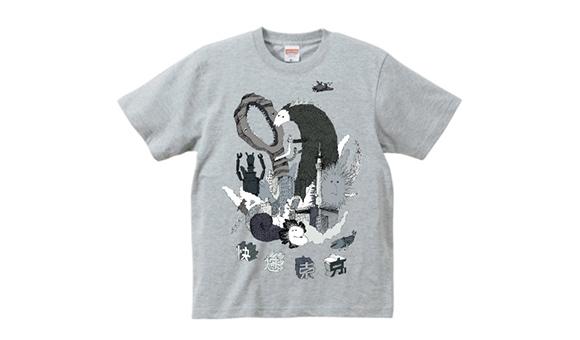 小柄男性におすすめのおしゃれアイテム「イラストシャツ」