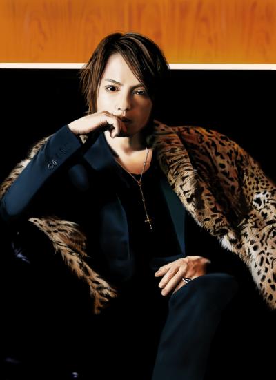 hyde(ラルクアンシエル)のファッション画像