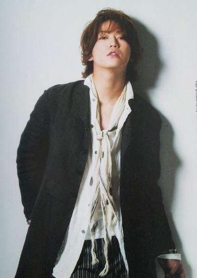 亀梨和也(KAT-TUN)のファッション画像