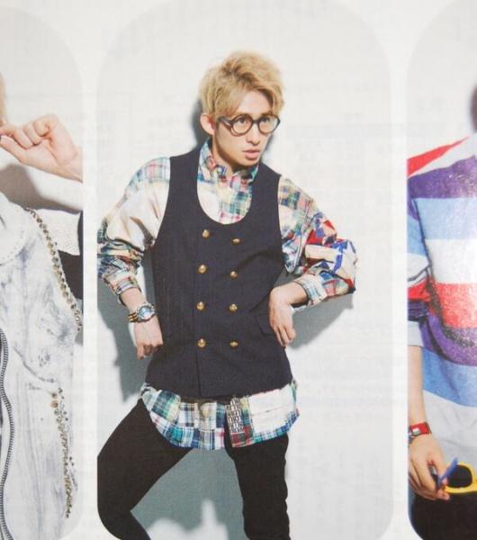 三宅健(V6)のファッション画像