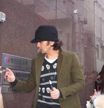 武田真治のファッション画像